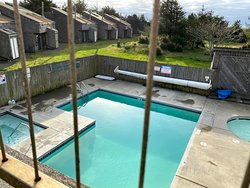 Clubhouse view of pool from sundeck
