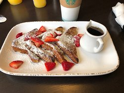 French Toast with Strawberries.