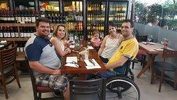Almoço com amigos do Rio