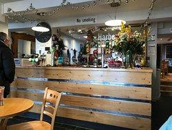 The Harbour Inn bar