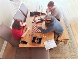 spend  your time with friends and enjoy board games.