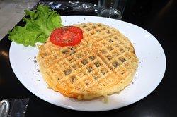 "'Waffles"" salgados"
