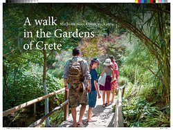 Botanical Park & Gardens Of Crete