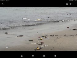 Hôtel confortable, mais ne pas envisager se baigner dans la mer. Plage complètement polluée. Le personnel nettoie le matin mais laisse le tas à côté donc dès que la mer monte tout repart à la mer.