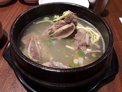 Galbi Tang (Korean Beef Short Rib Soup)!