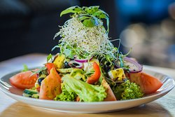 Salad - good for lunch, good for dinner!