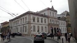 Edifício da Câmara Municipal.