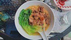 牛肉蝦子麵