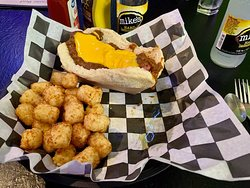 Small Town's Chili Cheese Dog