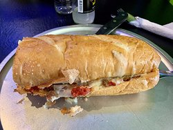 Small Town's Family Pizza Sub