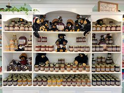 We now have Farmhouse Sweets jams, jellies, and muscadine cider! Stop in for a sample😊