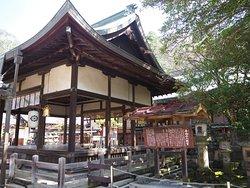 神社の建物