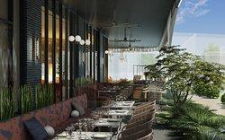 Commons Club patio