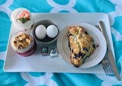 Breakfast in bed! :)