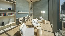 Library Room-A quite space to read or relax