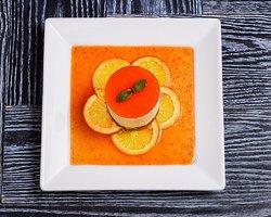 Orange Vanilla Cream Cheesecake