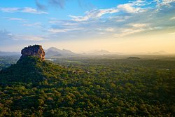 Most famous attraction among travellers . Sigiriya, known as 8th world wonder and a UNESCO world heritage site.