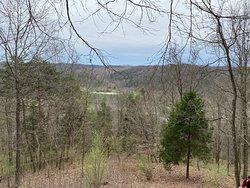View from top of Overlook Loop