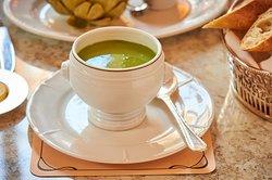 Soutine Minted Pea Soup