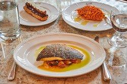 Soutine Sea Bream with ratatouille set menu