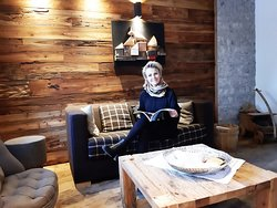 La padrona di casa Chalet Vites Boutique & SPA