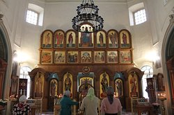 Interno Church of The Holy Great Martyr Catherine