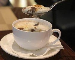 黑松露野菌湯 Mushroom Cappuccino