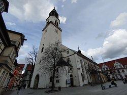 Exterior de la Iglesia de Santa María