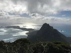 View from the top!! Of Mt Gower that is!!