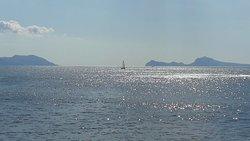 Veduta verso Napoli e Capri
