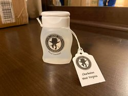 Our first batch of Hand Sanitizer went primarily to first responders