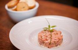 Tartar de salmão!😋