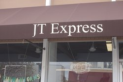 Store front of JT Express in San Jose's Japantown