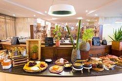 restaurant Namiele buffet de petit déjeuner
