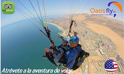 Paragliding Oasisfly Iquique