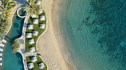 Guests of the Elounda Peninsula have access to the resort's seaside complex of swimming pools, which comprises the largest seafront pool on the island of Crete.