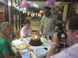 Daughter's birthday at La Paloma with Jose Martiniano