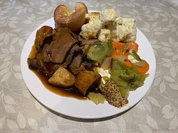 A lovely Sunday lunch take away