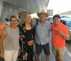 Il y a quelques mois... un beau réceptif à l'aéroport de Cancun !