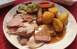 It came with a Yorkshire Pud each, but hubby had mine!