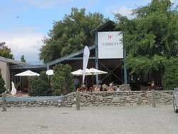 Approach to Forrest Winery on the Marlborough Wine Trail