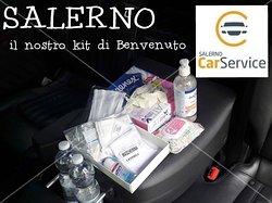 Kit di Benvenuto della Salerno Car Service