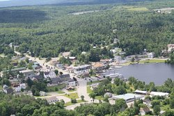 B52, Mt Kineo from a seaplane, lake community, great hikes, boating and swimming!