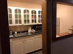 The public kitchenette area....