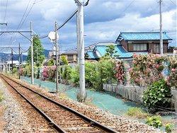 養老鉄道横、神戸ローズパーク