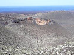 Impressive crater