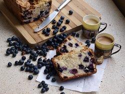 Panque de blueberry