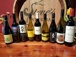 Over 200 different wines available by the bottle. These are just a few from New Zealand and Australia featured in February.