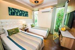 Estancia - twin bed room