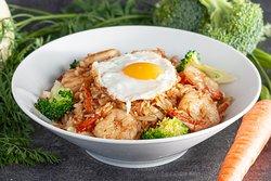 Riz khmer sauté